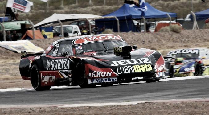 Aguirre transitando la última chicana | Foto: ACTC