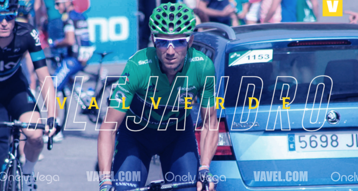 Alejandro Valverde Vuelta a España 2017 / Foto Diego Blanco