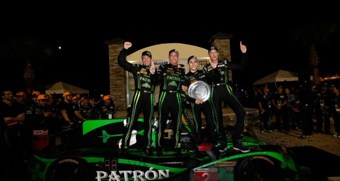 The Sebring-winning Tequila Patrón ESM crew | Photo: IMSA