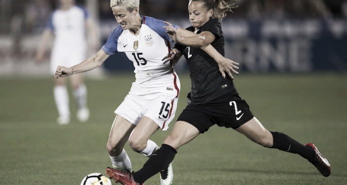 The USA is to play New Zealand in a send off game before the World Cup.// Source: USSoccer.com
