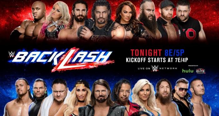 WWE Backlash starts 8PM EST / 5PM PT | Photo Credit: WWE.com