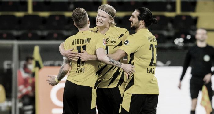 Borussia Dortmund derrota Union Berlin e cola no G-4 da Bundesliga
