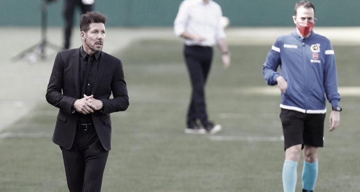 """Simeone: """"Iremos partido a partido como hasta el momento"""""""