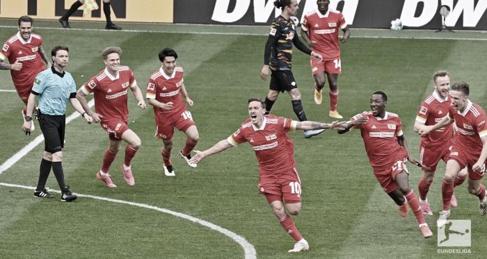 Union Berlin arranca vitória sobre RB Leipzig e se classifica à Europa Conference League