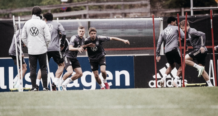 Gols e melhores momentos para Alemanha x Letônia em Amistoso Internacional (7-1)