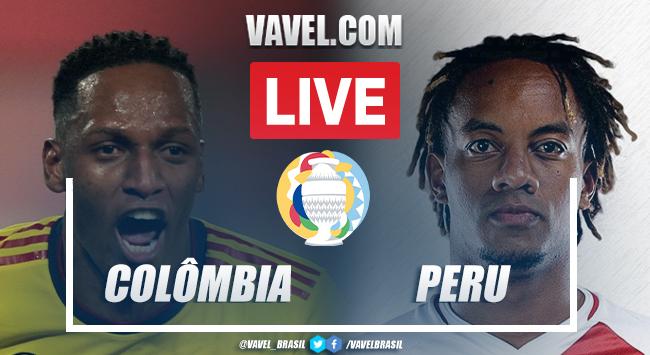 Gols e melhores momentos de Colômbia 1 x 2 Peru pela Copa América