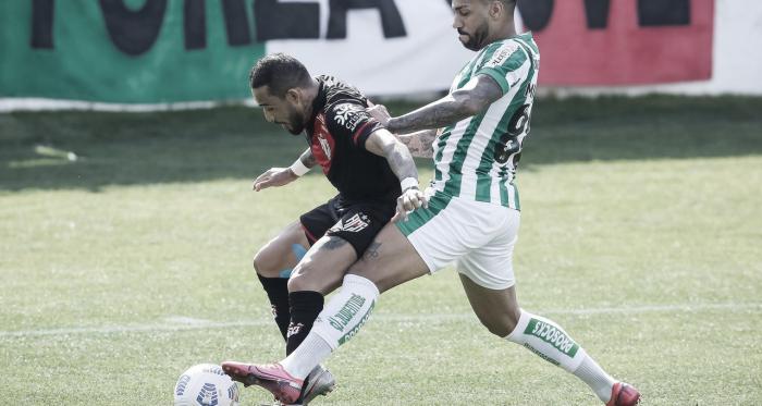 Atlético-GO se impõe, mas Juventude empata no final