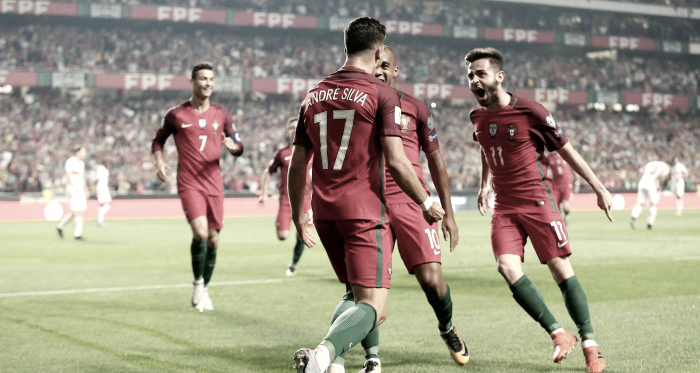 Portugal já está no Mundial da Rússia // Foto: Facebook Seleções de Portugal