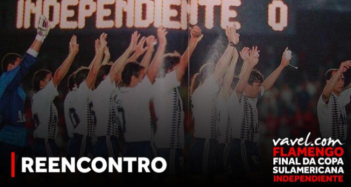 Após 22 anos, Flamengo e Independiente se reencontram em uma final continental