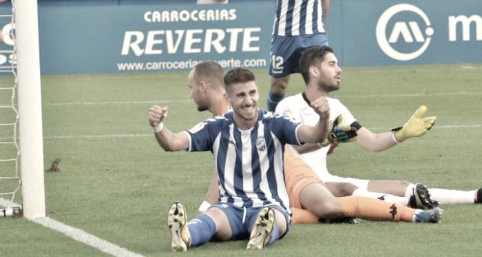 """Dani Ojeda: """"Tenemos que puntuar siempre, de tres en tres mejor pero por lo menos puntuar"""""""