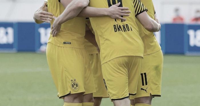 Enorme triunfo del Dortmund sobre el Leverkusen