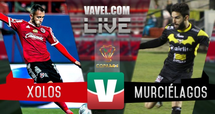 Resultado Xolos Tijuana - Murciélagos en Copa MX 2016 (2-1)