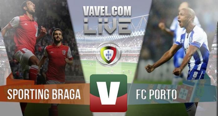 Resultado Braga x Porto na Liga NOS 2015/2016 (3-1)