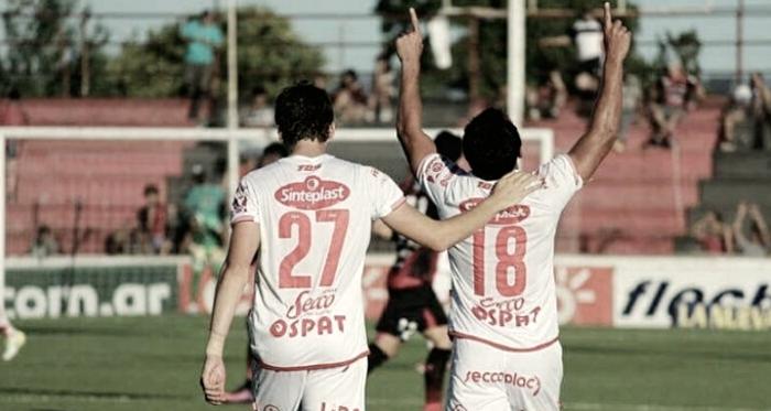 Soldano y Gamba son los goleadores del Tatengue.
