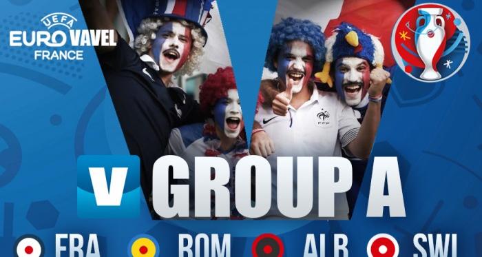 França e Suíça apuraram-se no grupo A, Albânia e Roménia ficaram pelo caminho