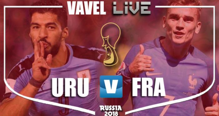 Uruguay - France en direct commenté: Coupe du Monde 2018 (0-2)