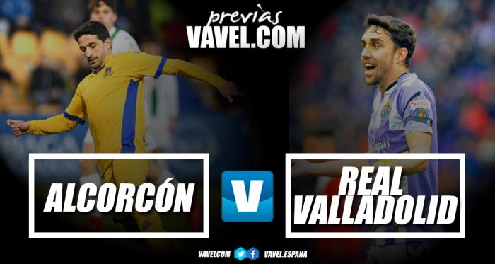Previa AD Alcorcón vs Real Valladolid: espadas por todo lo alto