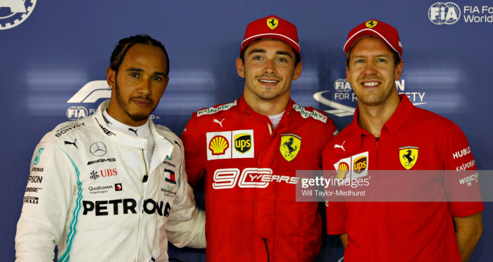 Ferrari emerged out of the blue to storm qualifying     Credit: Will Taylor-Medhurst, Getty Images