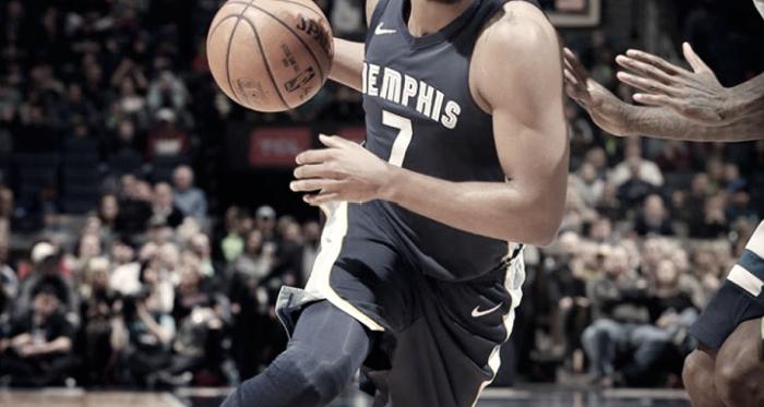 La figura del partido, Wayne Selden Junior de Memphis Grizzlies (Foto: NBA).