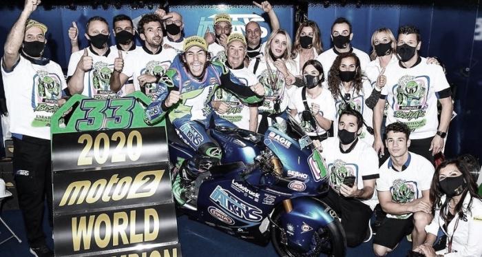 Los mejores recuerdos de los ganadores de Moto2