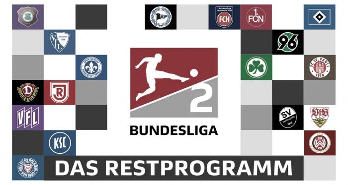 Gols e melhores momentos da última rodada da 2. Bundesliga
