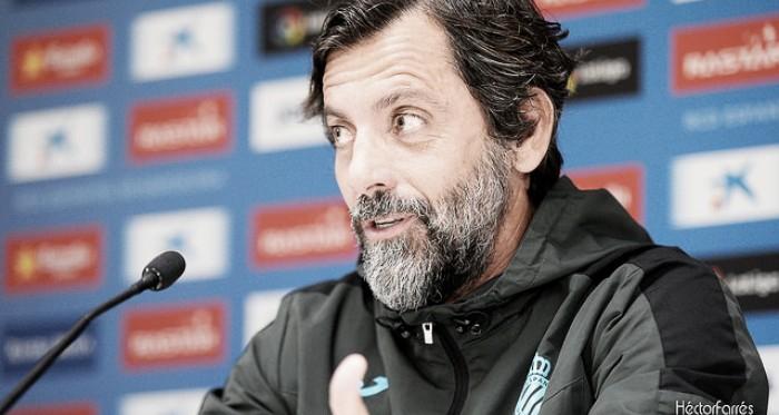 """Quique Sánchez Flores: """"El Sevilla es el rival más imprevisible"""""""