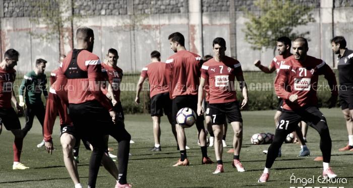 Plan de entrenamientos previo al Camp Nou