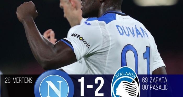 Serie A- È una Dea da Champions! L'Atalanta espugna il San Paolo (1-2)