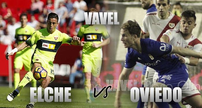 Elche CF - Real Oviedo: ganar y esperar. (Fotomontaje: VAVEL)