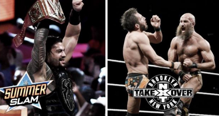 ¿Qué fue mejor? SummerSlam o NXT TakeOver Brooklyn