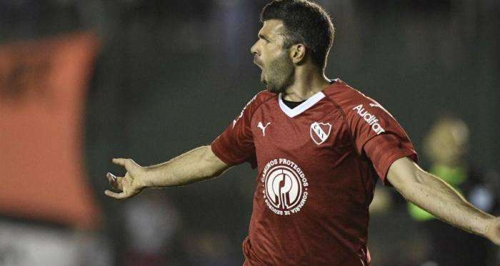 Gigliotti el goleador de la Superliga con 6 tantos<div>Foto: Nuevos Papeles</div>