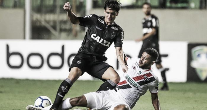 Atlético-MG empata com o Ferroviário-CE, mas garante classificação na Copa do Brasil