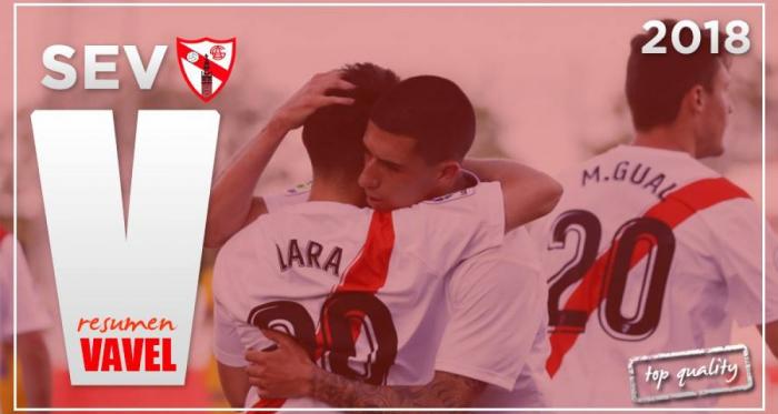 El Sevilla Atlético no ha podido mantener la categoría. Foto: VAVEL.com