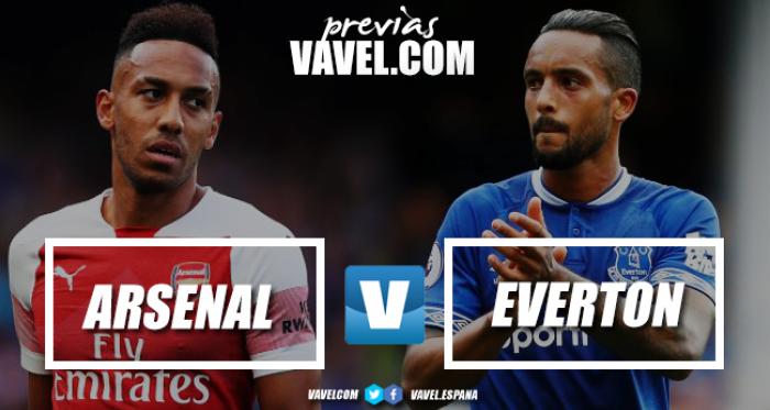 Previa Arsenal - Everton: en plena racha