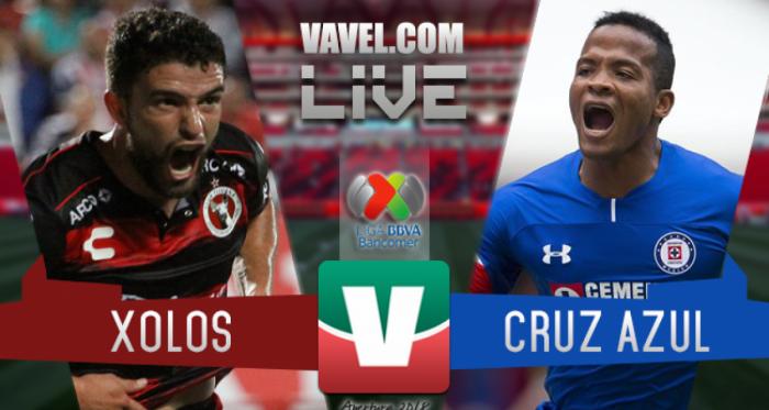Resumen Xolos 1-1 Cruz Azul en Liga MX 2018