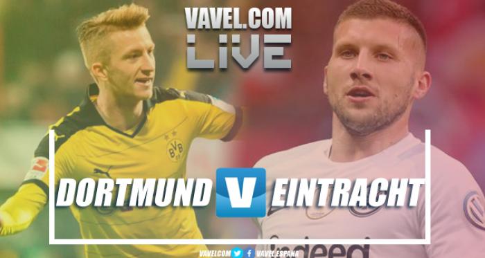 Resumen Borussia Dortmund vs Eintracht Frankfurt 3-1 en la Bundesliga