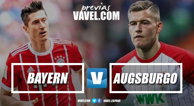 Previa Bayern – Augsburgo: los bávaros quieren mantener el paso perfecto