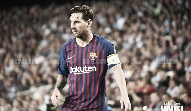 Leo Messi con el FC Barcelona. FOTO: Noelia Déniz