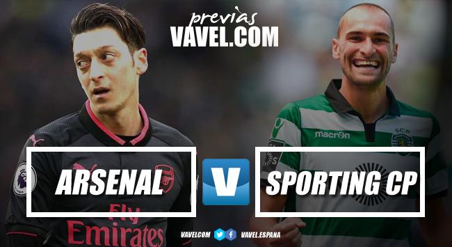 Resumen Arsenal vs Sporting de Portugal en Europa League 2018 (0-0)