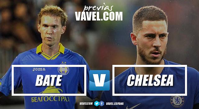 """Previa BATE Borisov-Chelsea: El BATE buscará posponer la alegría de los """"blues"""""""