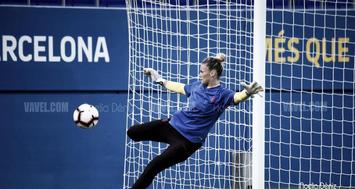 Sandra Paños, jugadora del FC Barcelona. FOTO: Noelia Déniz