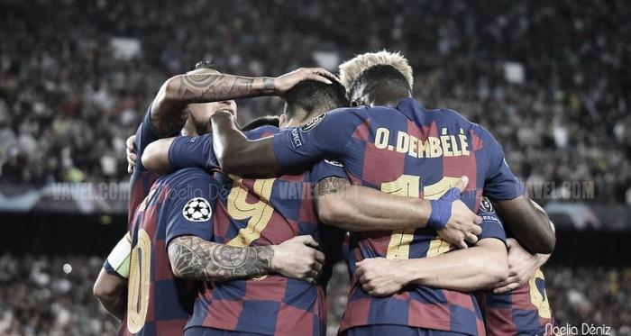 Imagen correspondiente al Barça - Inter del pasado miércoles | Foto: Noelia Déniz (VAVEL)