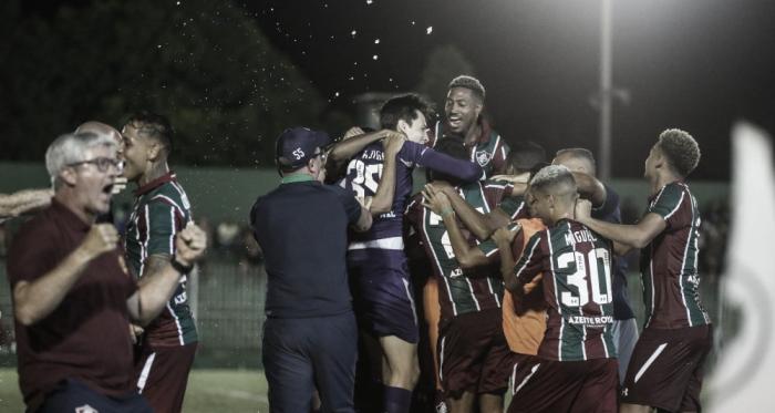 Fluminense foi o único dos grandes a vencer na estreia do Carioca. Foto:Lucas Merçon/Fluminense F.C.
