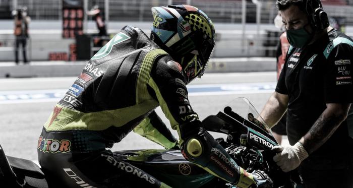 """Rossi: """"Dirección de carrera tiene que trabajar más"""""""