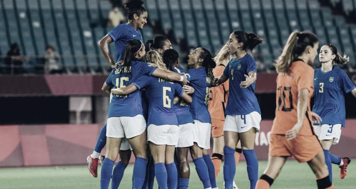 Goals and Highlights: Netherlands 3-3 Brazil in Tokyo 2020