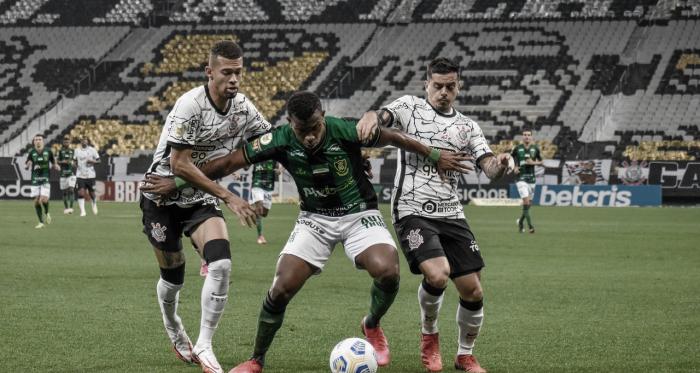 Corinthians para em noite inspirada de Matheus Cavichioli e fica no empate com América-MG