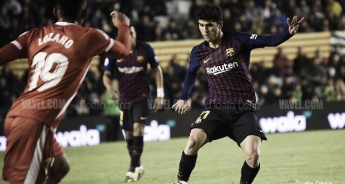 Carles Aleñá en la Supercopa de Cataluña 2018/19 | Foto de Noelia Déniz, VAVEL