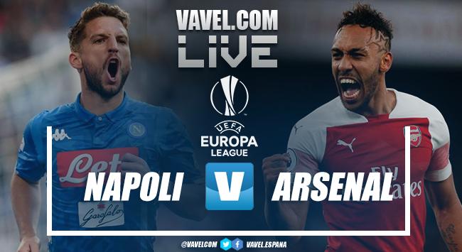 Resumen del Nápoles 0-1 Arsenal (0-3) por la UEFA Europa League 2019-2020