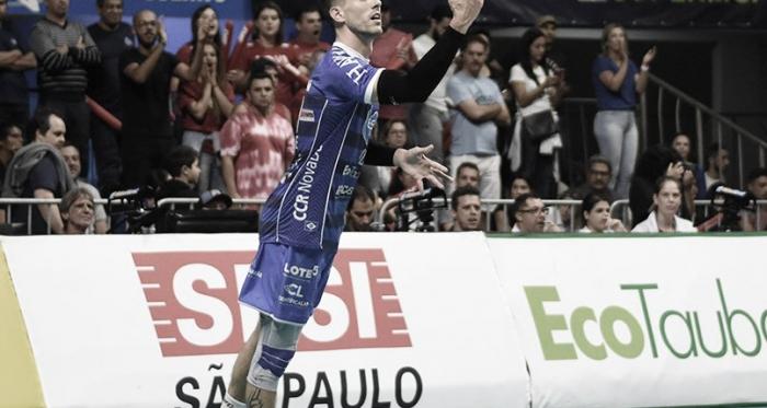 Conte foi destaque do título da Superliga do Taubaté (Foto: Renato Antunes/Maxx Sports Brasil/Taubaté)