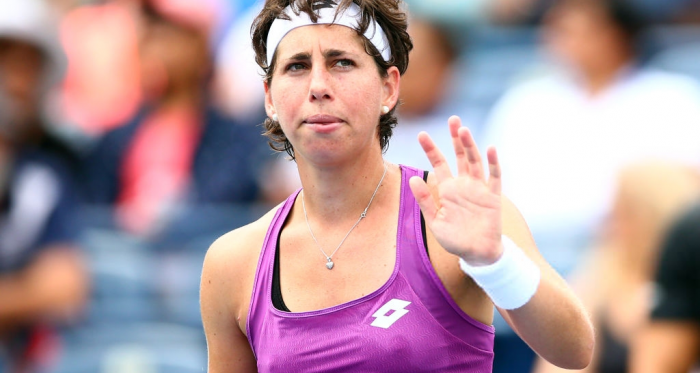 Carla Suarez Navarro will look to return to the top of her game soon | Photo: Vaughn Ridley/Getty Images via Zimbio